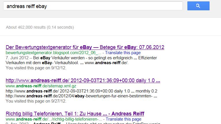 Wenn sitemap.xml.gz in der Google-Suche auftaucht ...